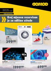 DOMOD - Katalog! - Akcija do 04.11.2020