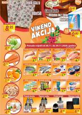 FORTUNA MARKET VIKEND AKCIJA - Super akcija do 29.11.2020.
