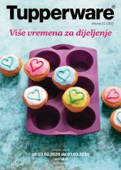 TUPPERWARE Katalog -  Akcija sniženja do 01.03.2020.