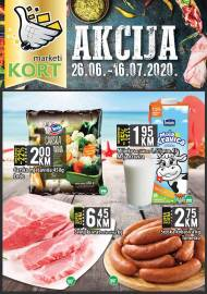 KORT Marketi - KATALOG - Akcija do 16.07.2020.god.