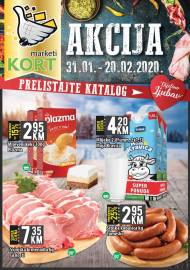 KORT Marketi - KATALOG - Akcija do 20.02.2020.god.