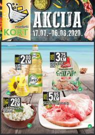 KORT Marketi - KATALOG - Akcija do 06.08.2020.god.
