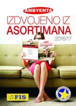 Ambyenta IZDVOJENO IZ ASORTIMANA 2016 / 17