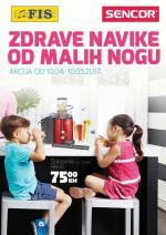 FIS Akcija - Zdrave navike od malih nogu - Akcija do 10.05.2017