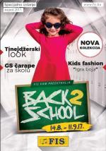 FIS VITEZ - BACK 2 SCHOOL Akcijska ponuda - do 11.09.2017. godine