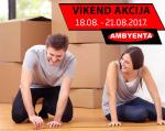 Ambyenta VIKEND AKCIJA do 21.08.2017