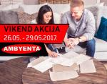 Ambyenta VIKEND AKCIJA do 29.05.2017