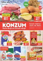 Konzum KATALOŠKA AKCIJA  do 18.01.2017. Godine